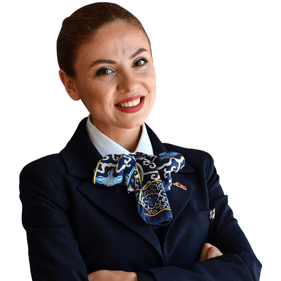"Working in my country's most powerful and prestigious company makes me feel safe. As cabin attendants, our responsibility is to be ""Brand Ambassadors"" and because of that you feel almost as powerful and confident as your company. Our responsibility is grand; however, we are respected first in our company and in society in general."